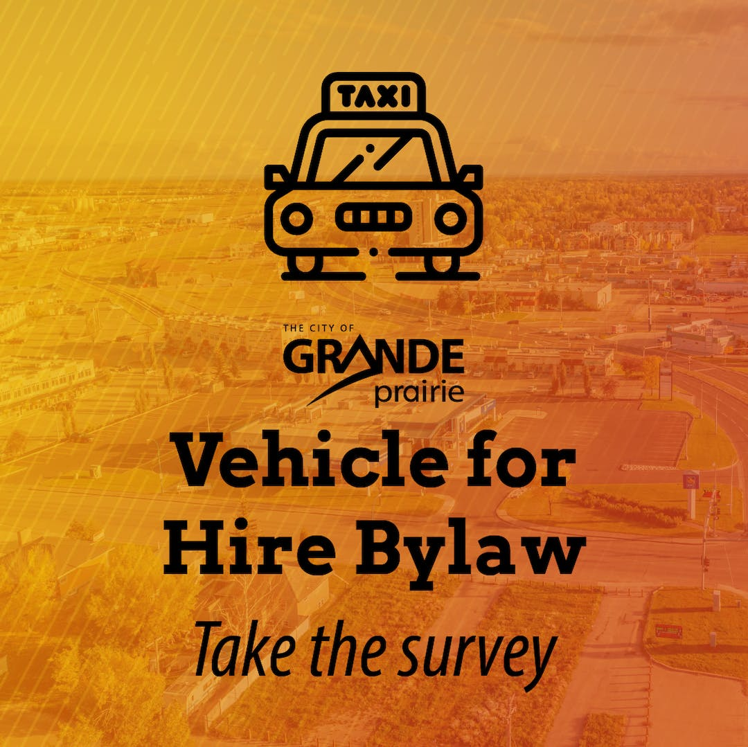 Vehicle for Hire Bylaw - Take the Survey