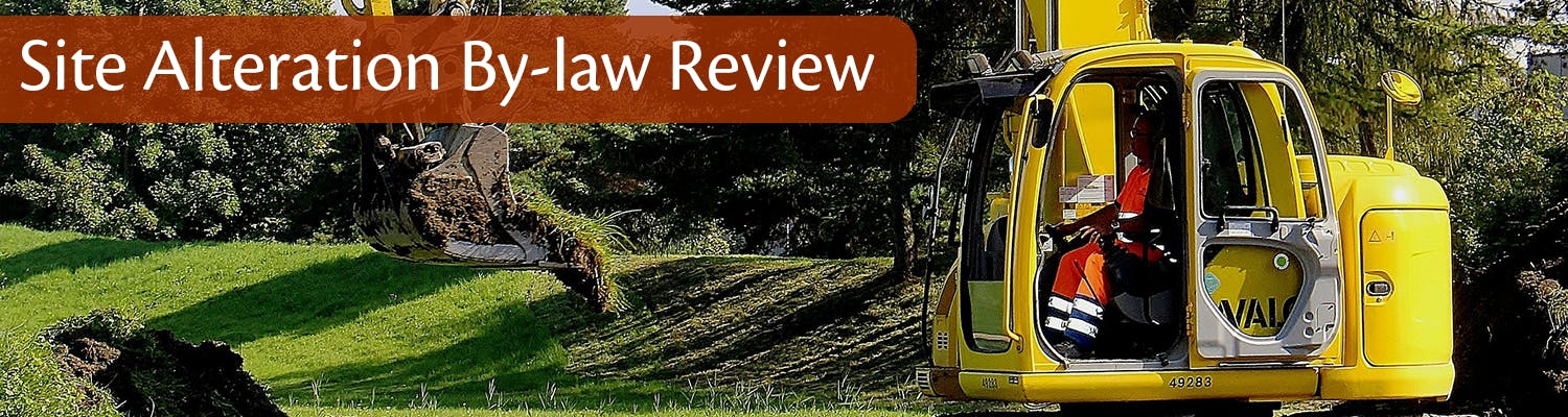 Site Alteration Bylaw Review