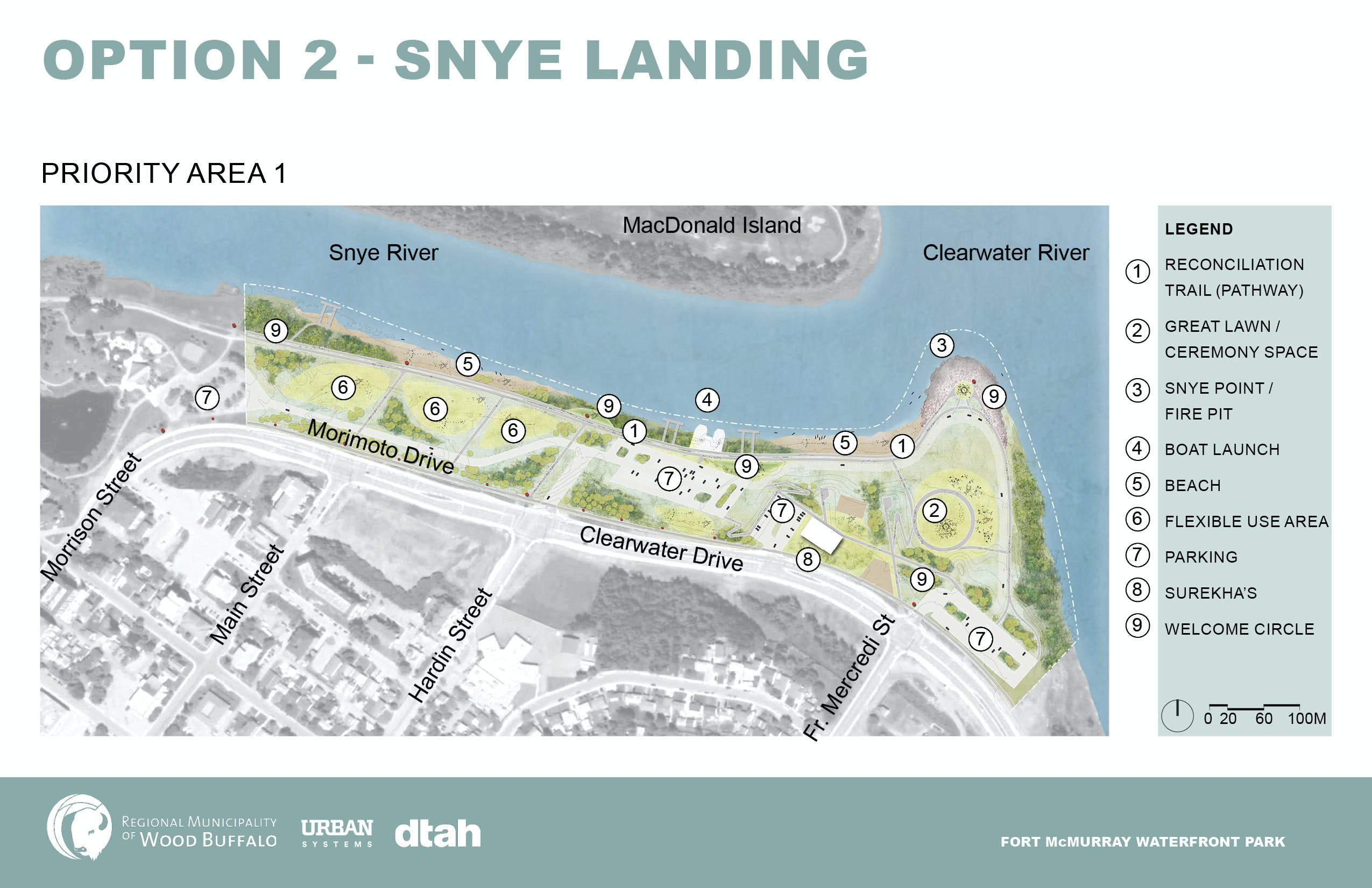 Option 2 - Snye Landing
