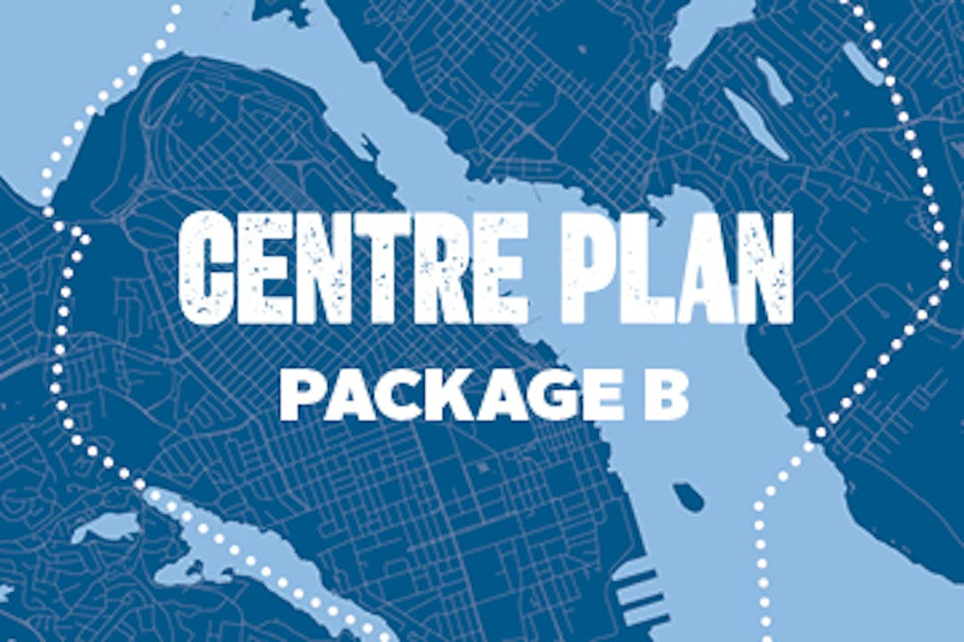 Centre Plan Package B graphic