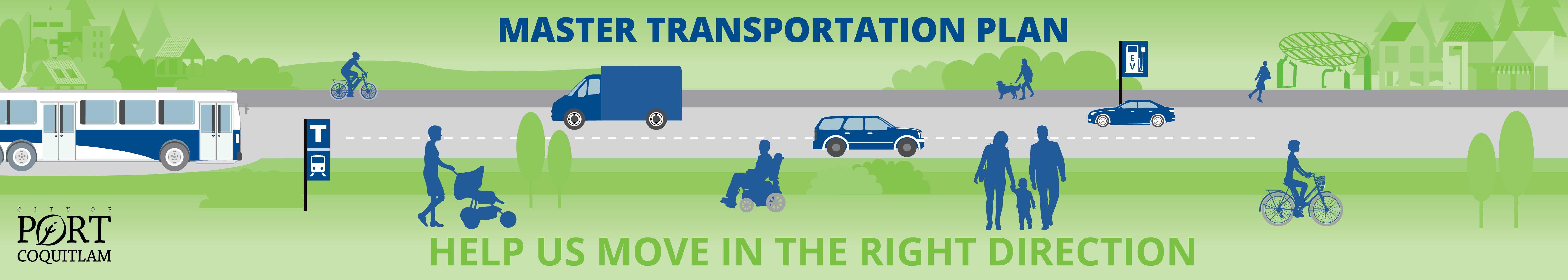 Master Transportation Plan Banner