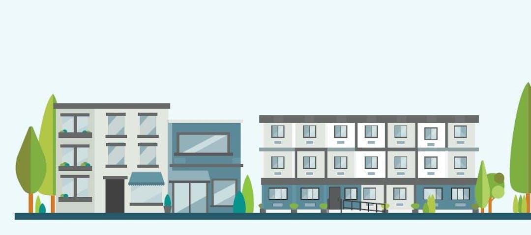 Housing illustration