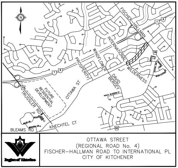 Ottawa Street Key Map