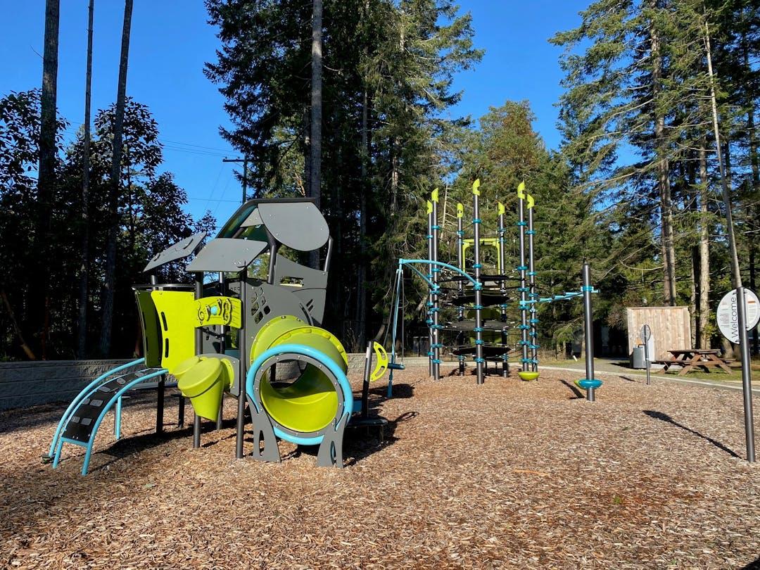 Huxley Community Park Playground - Electoral Area B