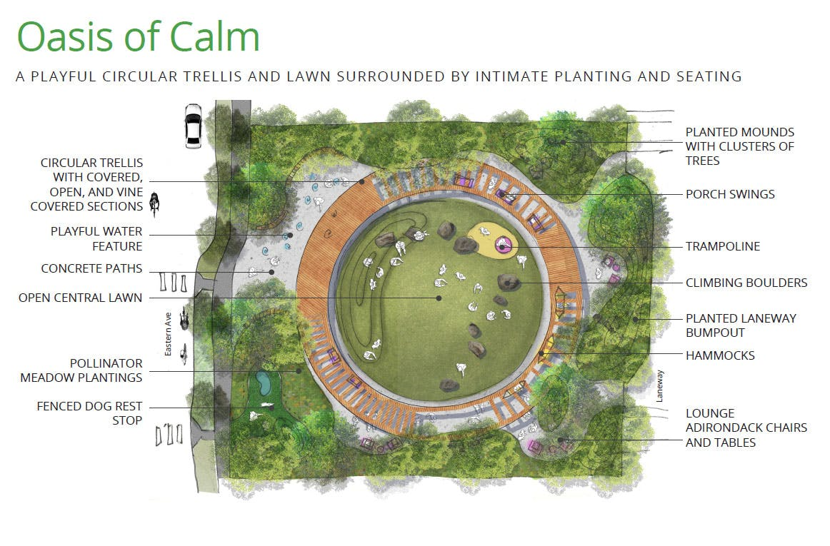 Oasis of Calm - Design Concept