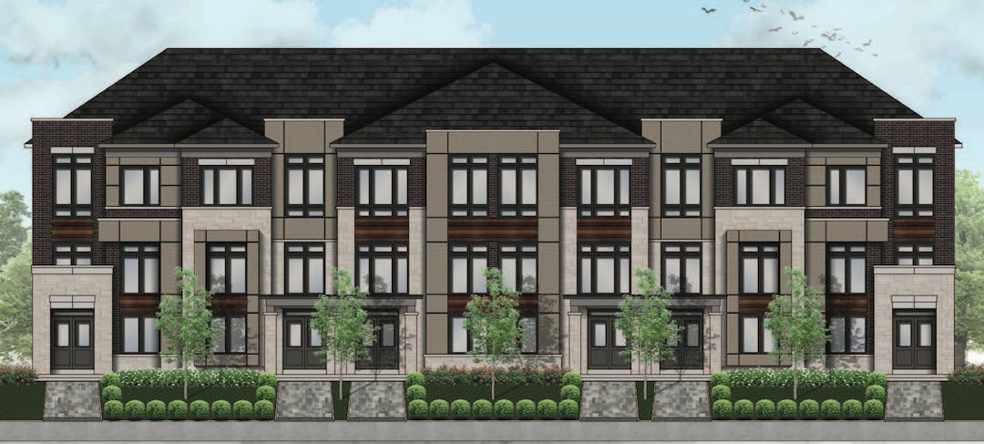 Proposed Townhouse Development at Simcoe Street and King Street (Magnum)