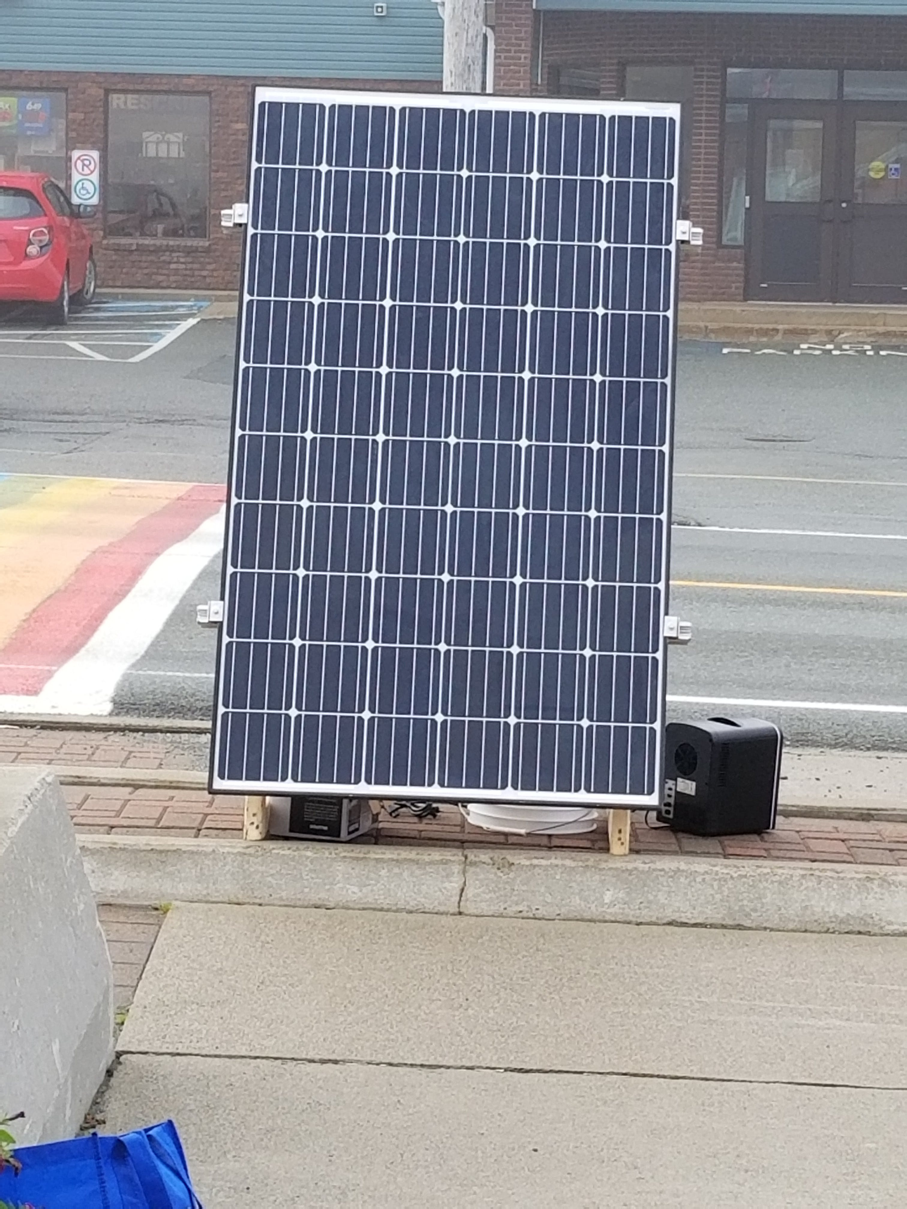 Town Hall Solar Panel Installation - Oct 2020