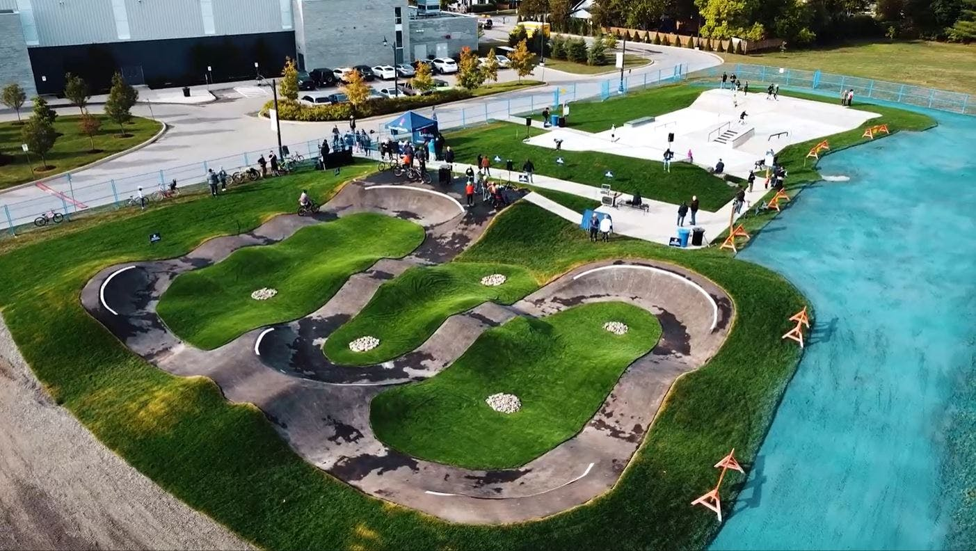 Construction completed on skatepark and pump track