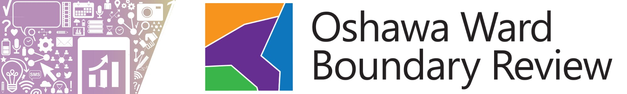 Oshawa Ward Boundary Review logo