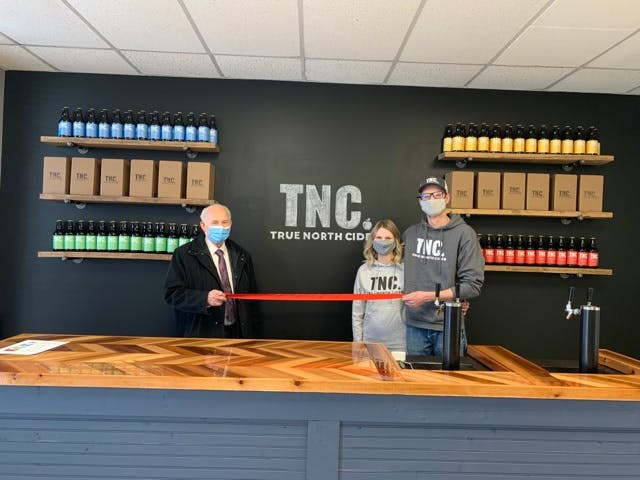 True North Cider Grand Opening