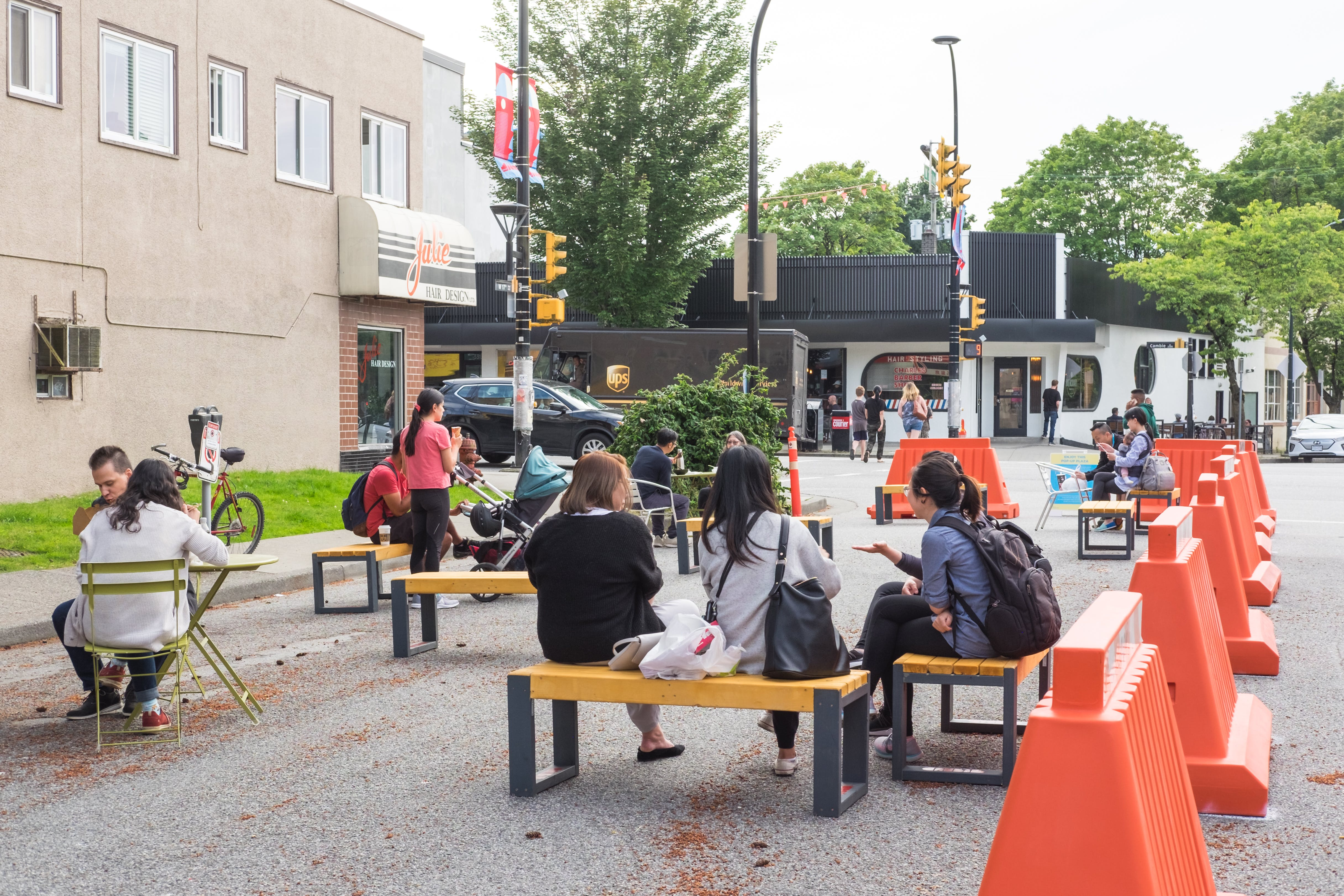 17th & Cambie Pop-up Plaza