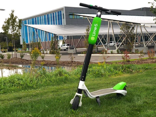 Example e-scooter (City of Waterloo)
