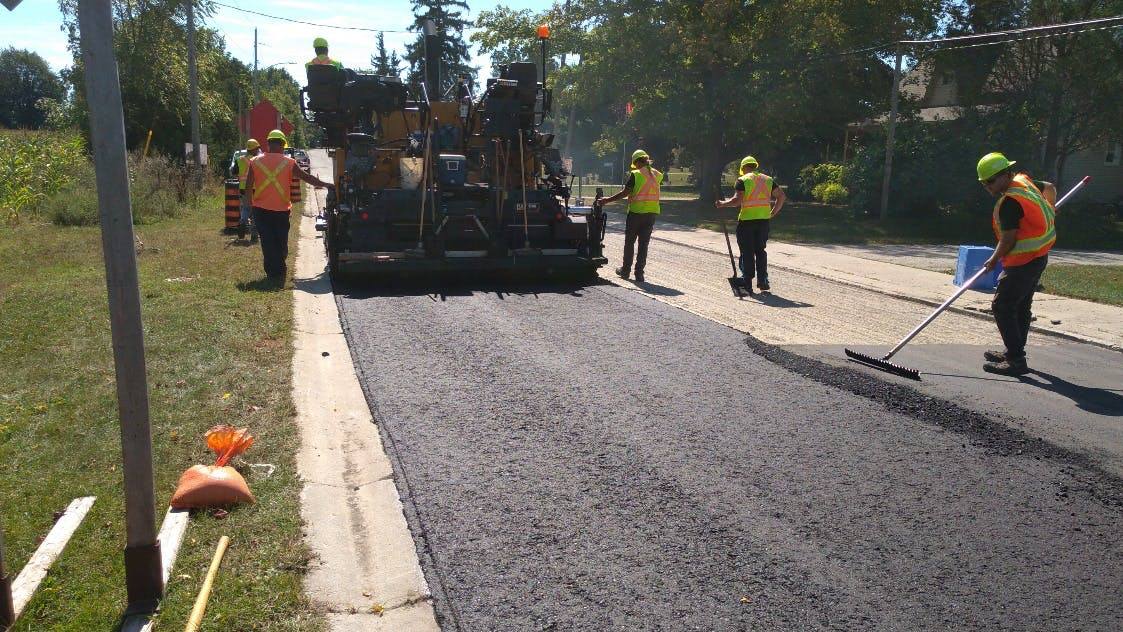 Hot Mix Asphalt Project Example 2