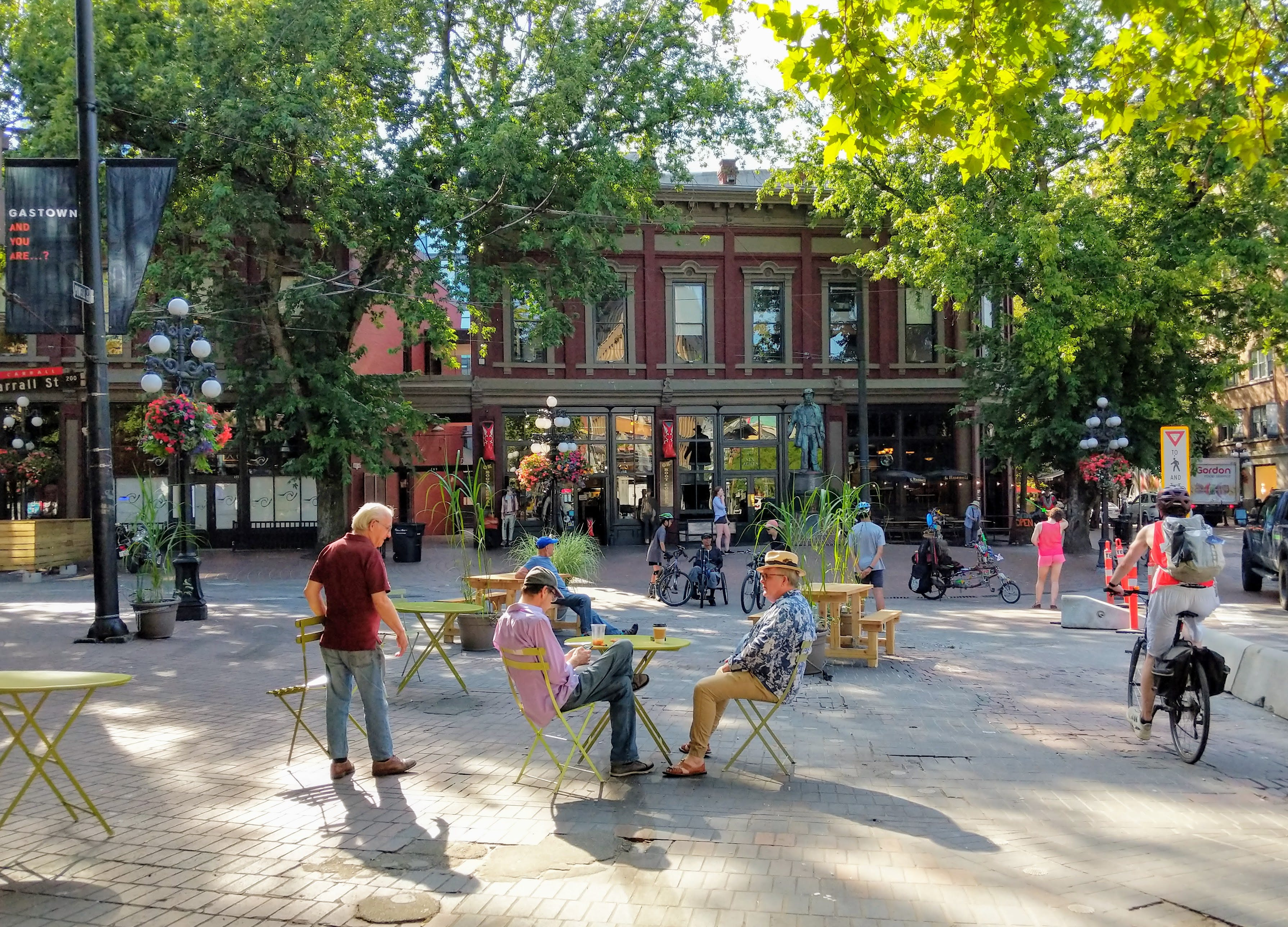 Carrall St Pop-up Plaza