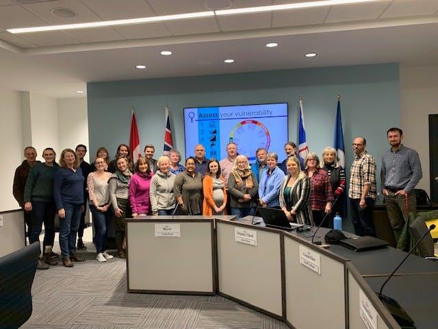Climate Change Adaptation Workshop - Nov 2019