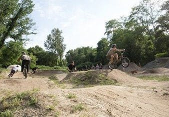 Dirt Pump Track
