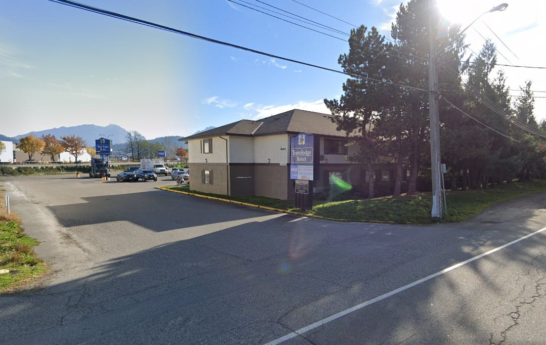 The Travelodge hotel in Chilliwack.