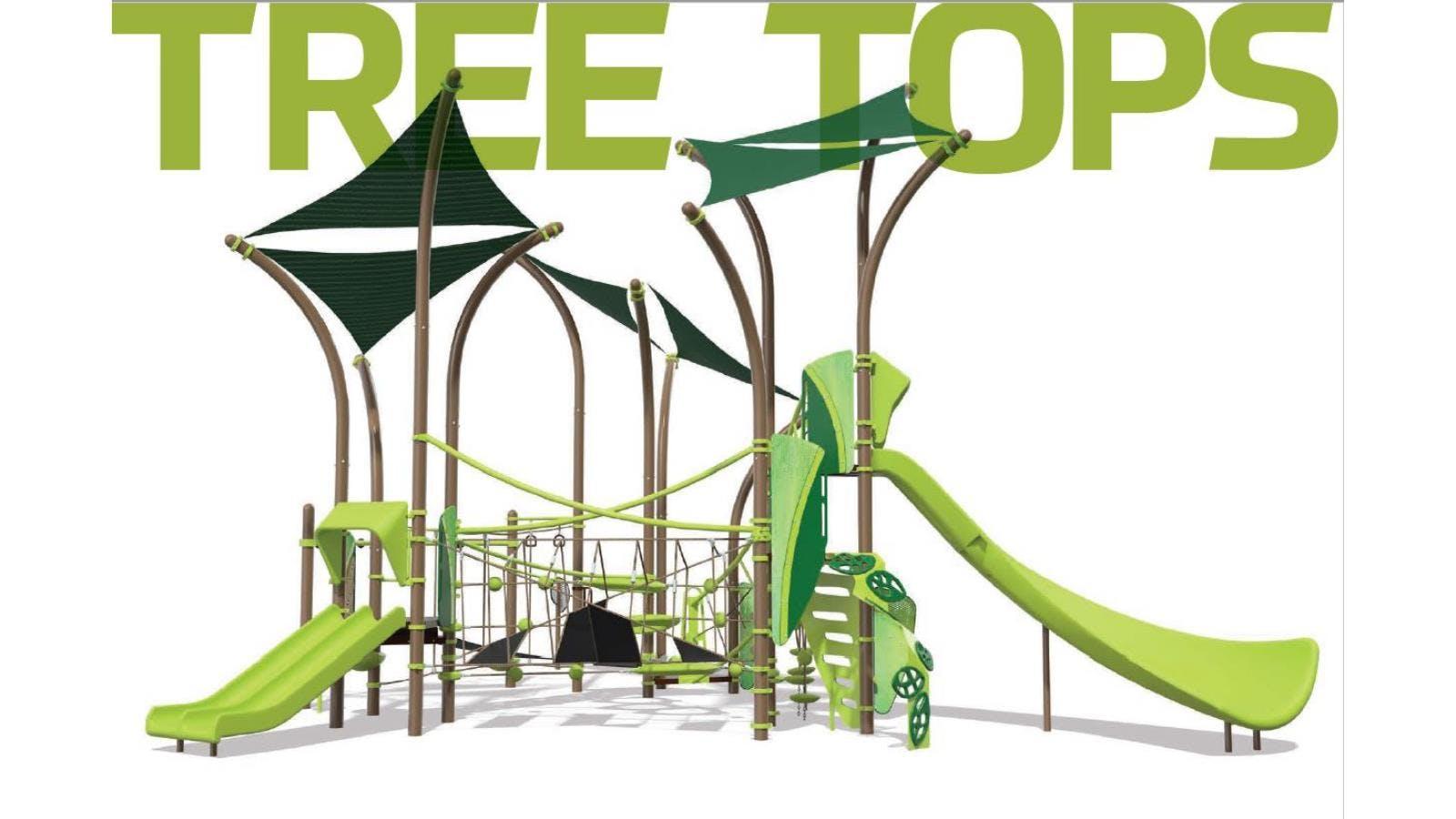 Tree Tops Play Equipment 1