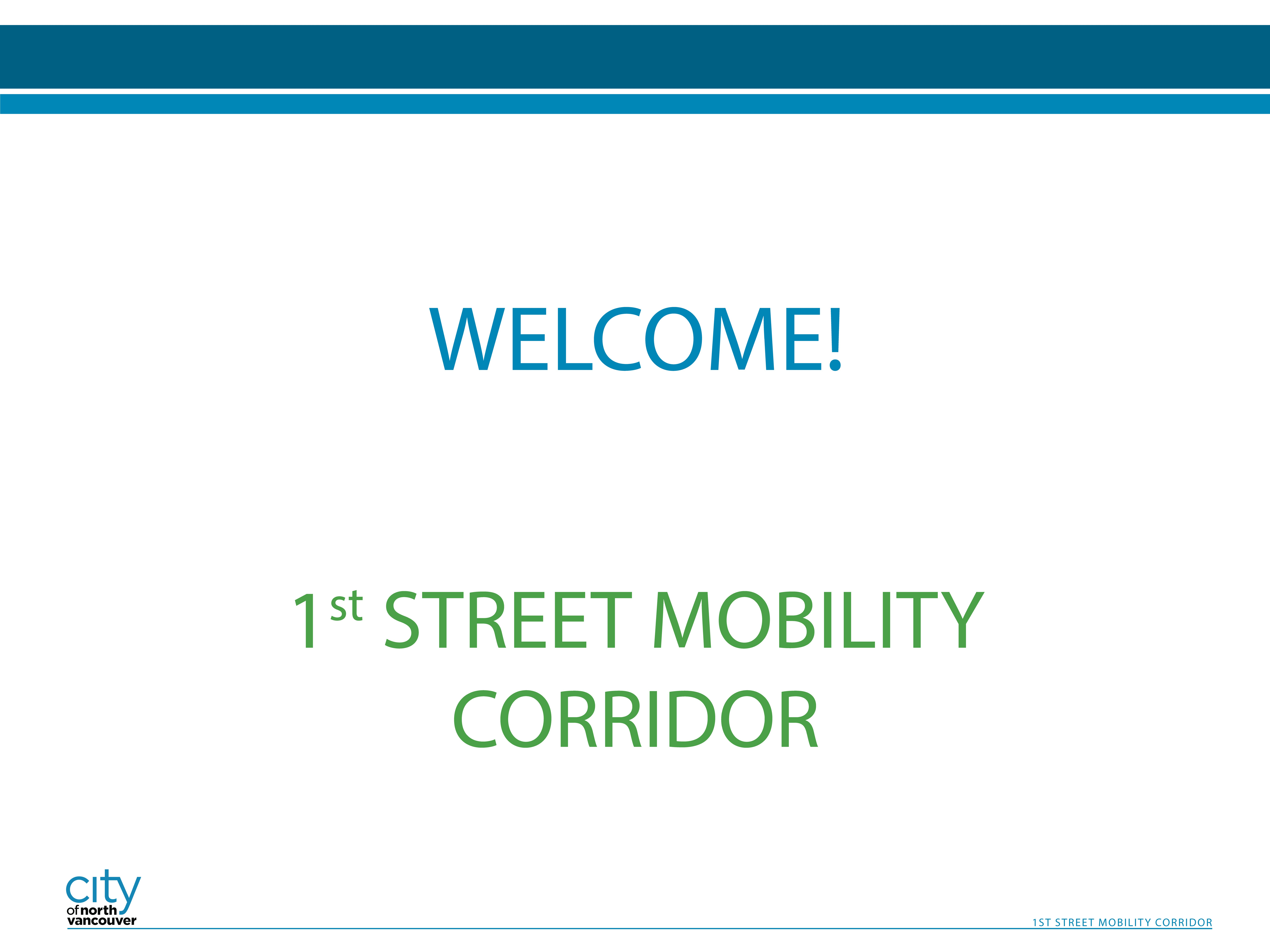 1st Street Mobility Corridor - Page 1
