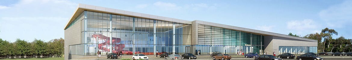 Paul Reynolds Community Centre architectural rendering