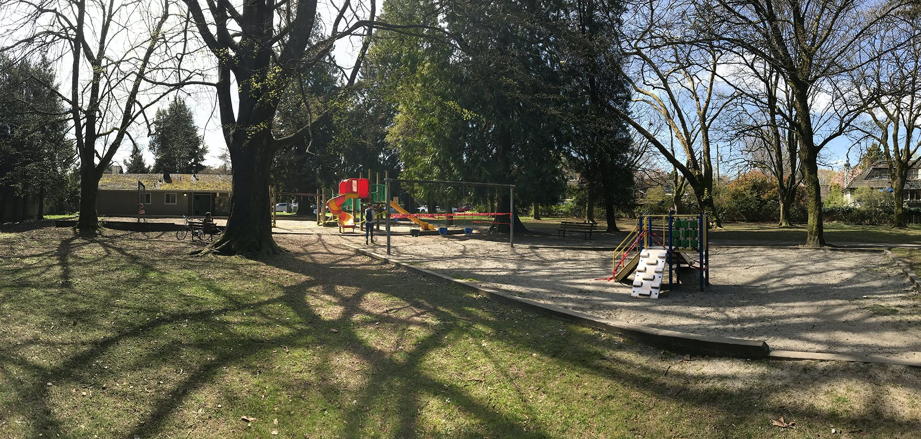 Concept A Location (Existing Playground) - South View