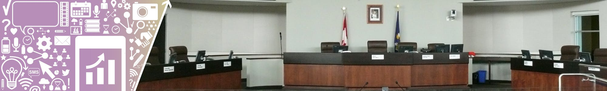 Oshawa Council Chamber