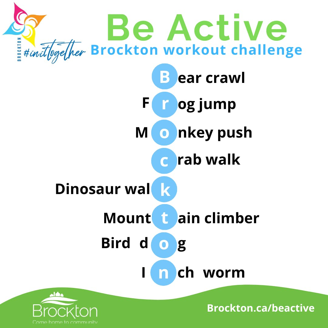 Be Active Workout Challenge