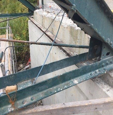 Southdale Line Bridge Rehabilitation Progress 8
