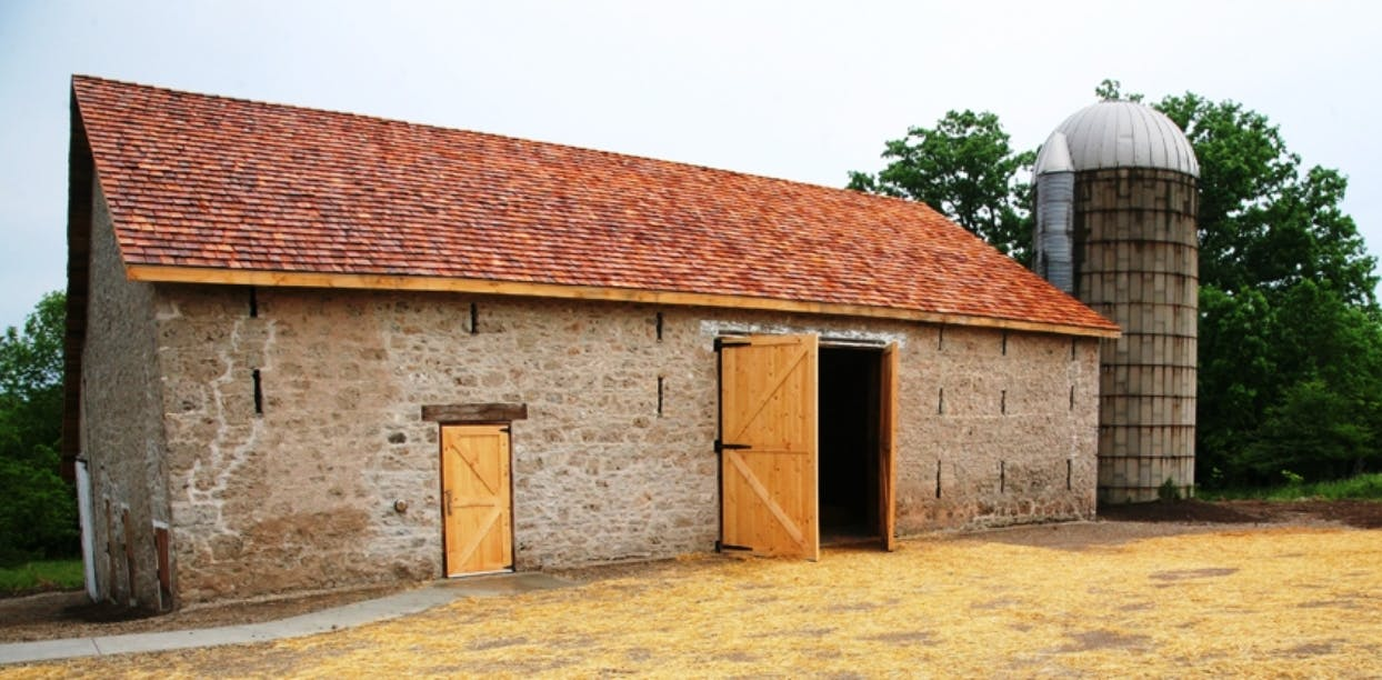 The slit barn on rare charitable research reserve