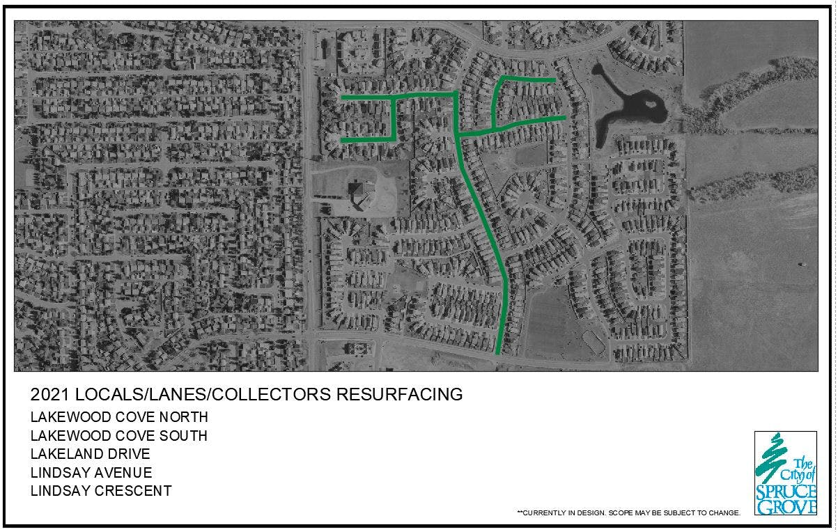 Surface Improvements – Lakewood Neighbourhood