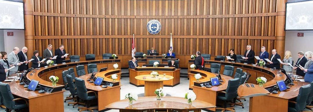 Image of Regional Council chambers
