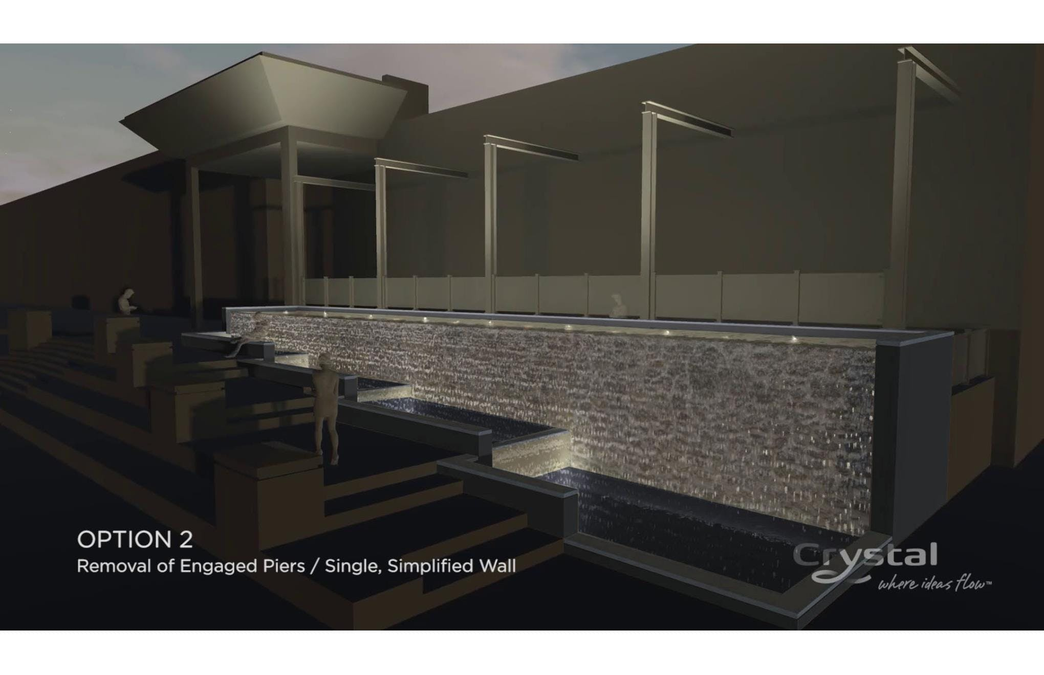 Water feature design concept