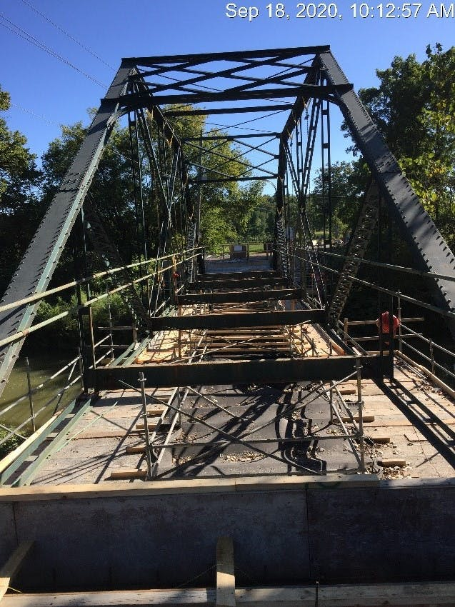 Southdale Line Bridge Rehabilitation Progress 2