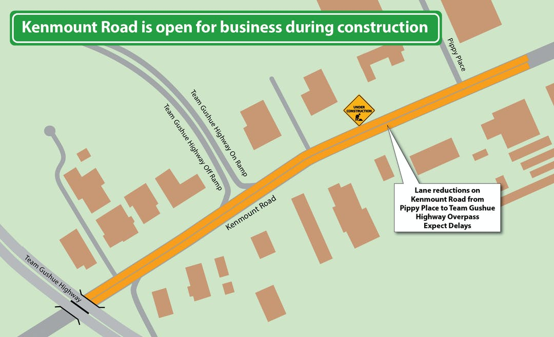 Kenmount Road is Open for Business During Construction