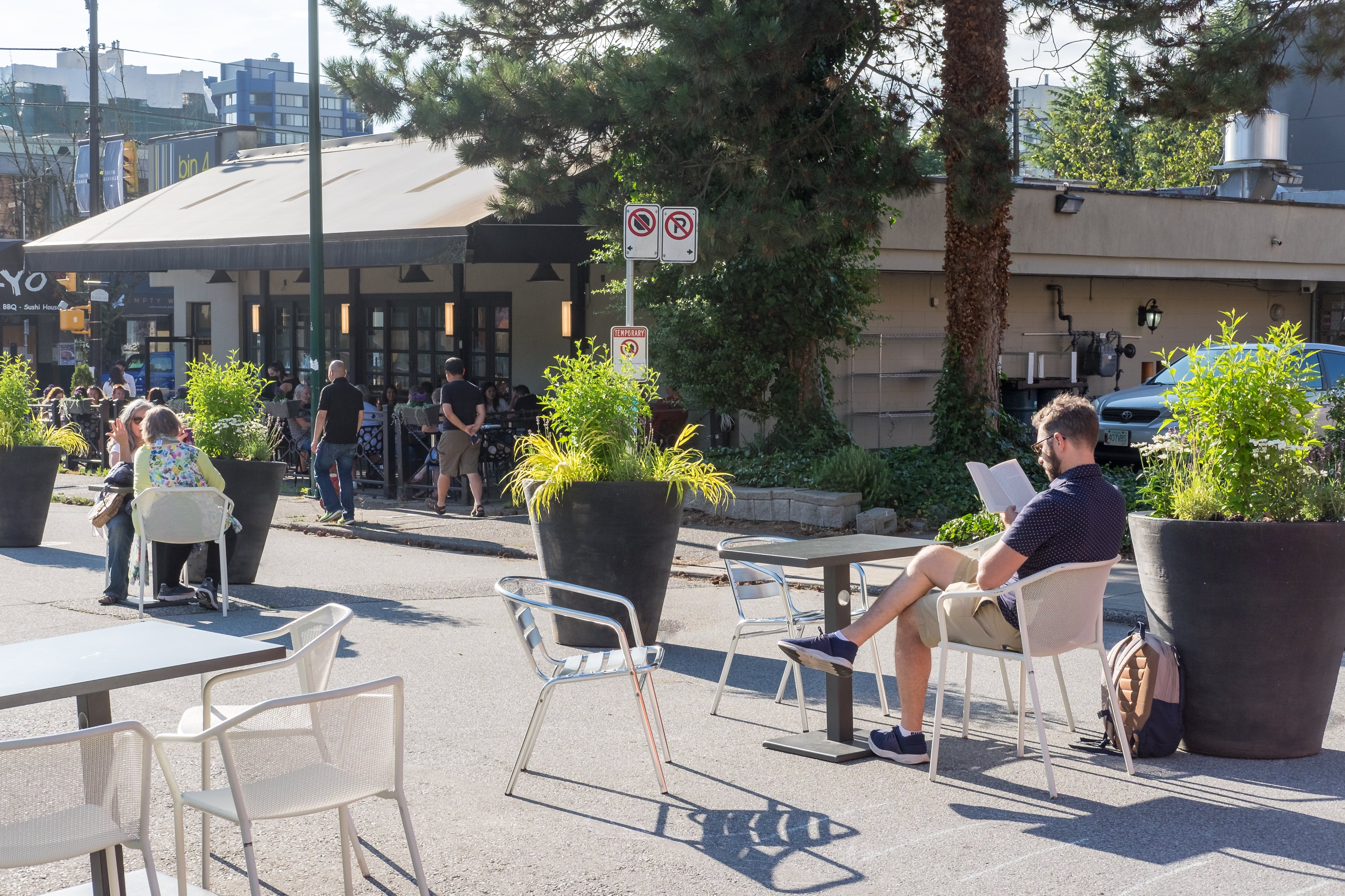 14th & Granville Pop-up Plaza