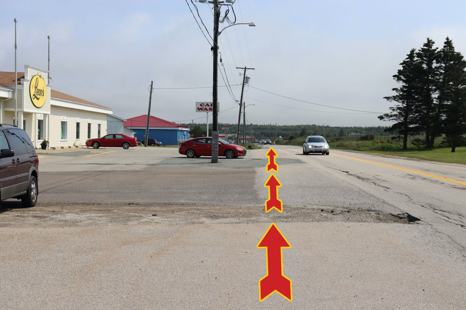 Asphalt multi-use trail will be added between Starrs Road and Parade Street on Haley Road.