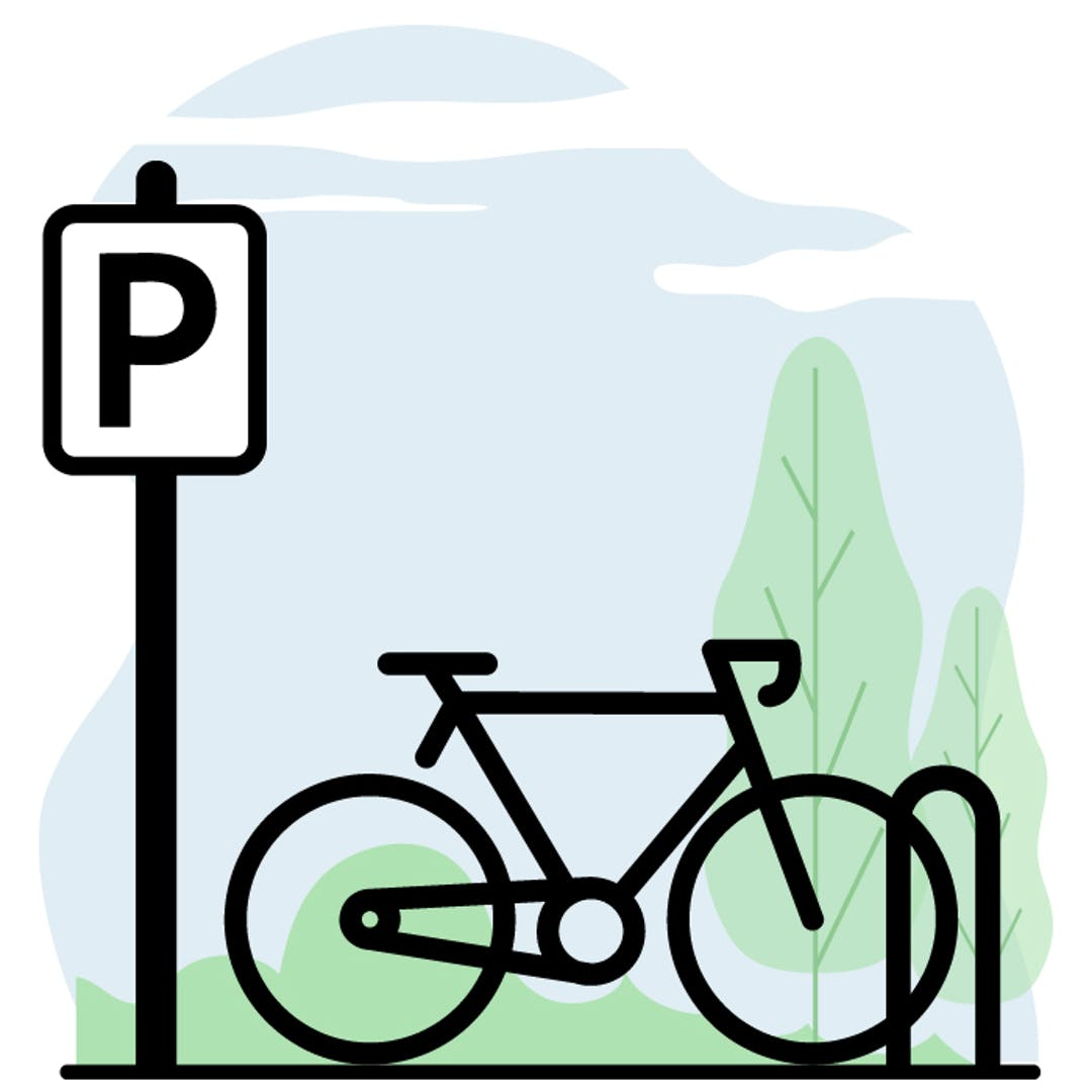 Stratégie de stationnement pour vélos