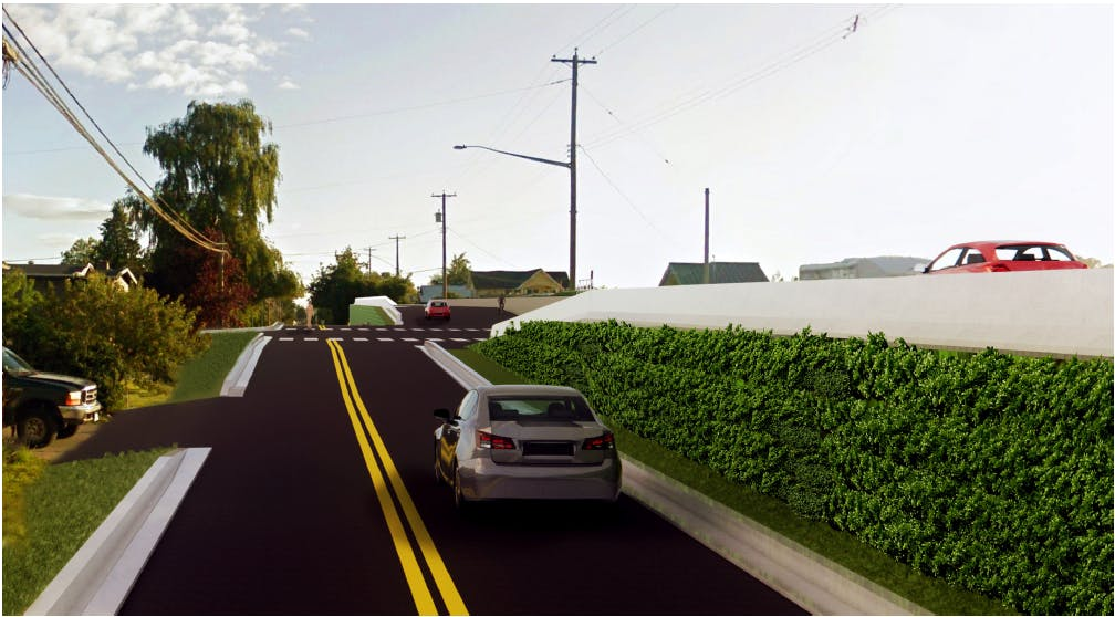 Photo Rendering - Raised Intersection Concept