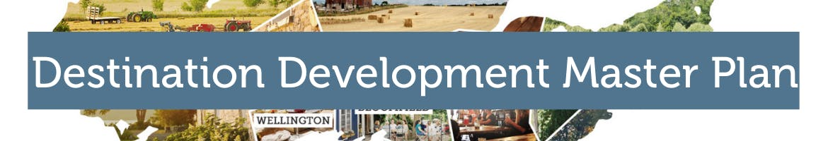 Banner for Destination Development Master Plan