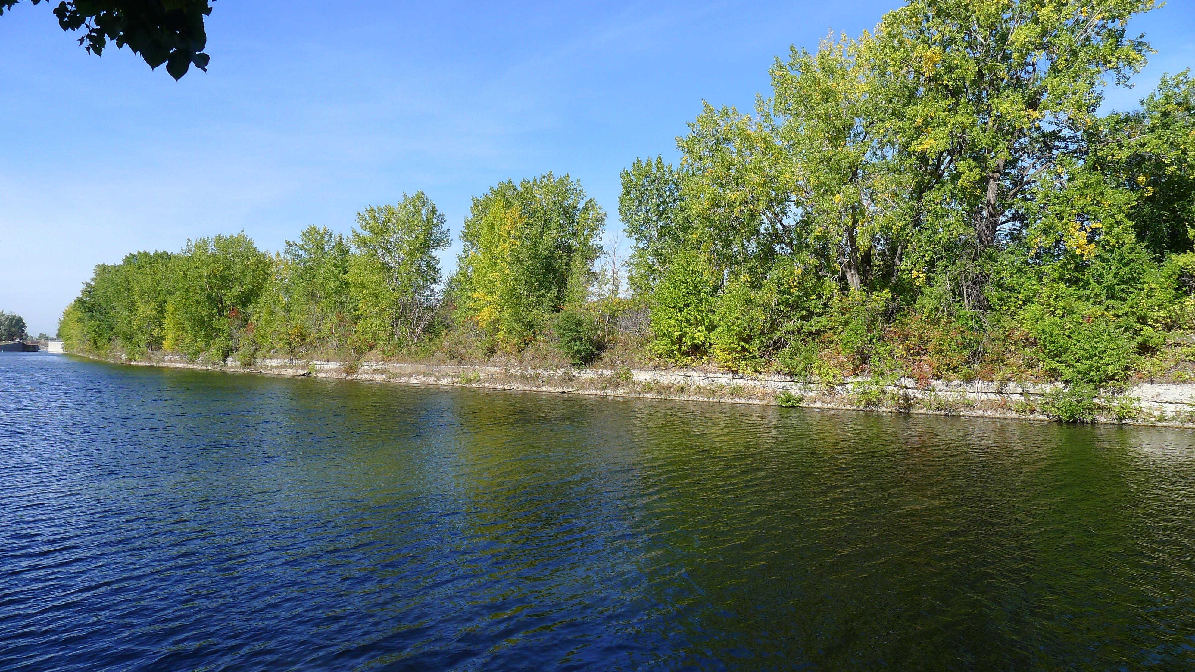 Territoire vue depuis le Canal de Lachine