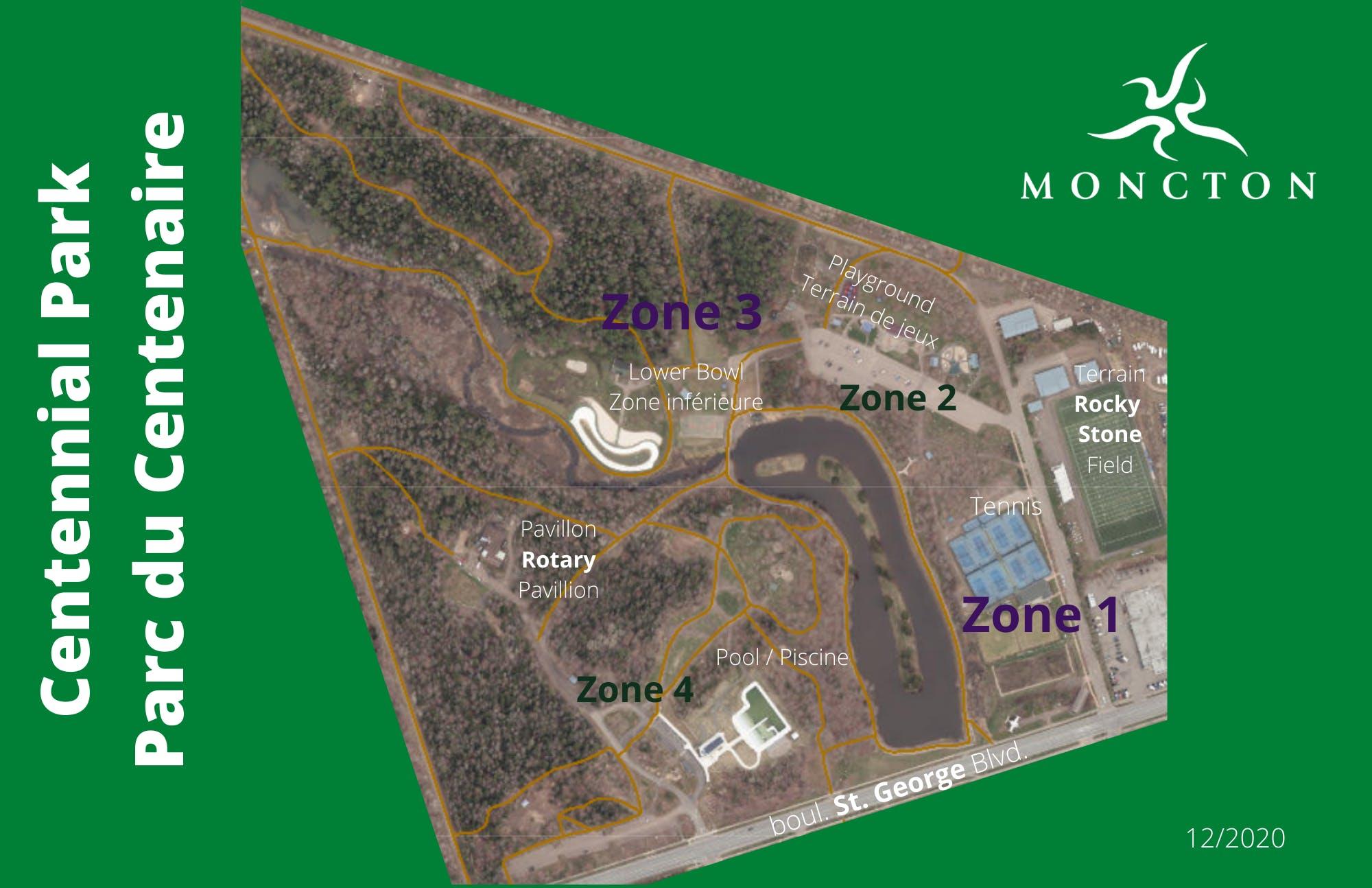 Centennial Park (zones)