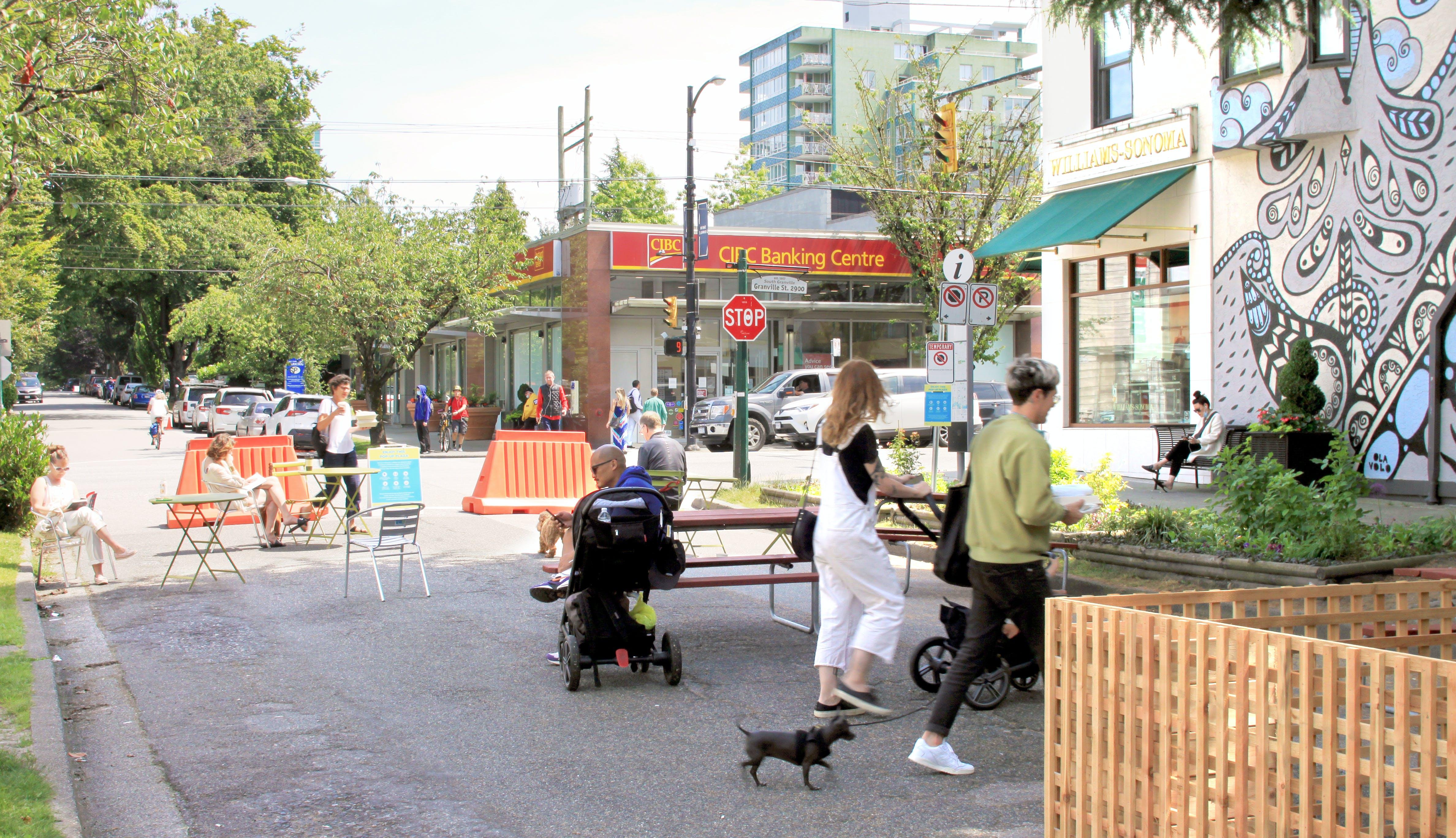 13th & Granville Pop-up Plaza