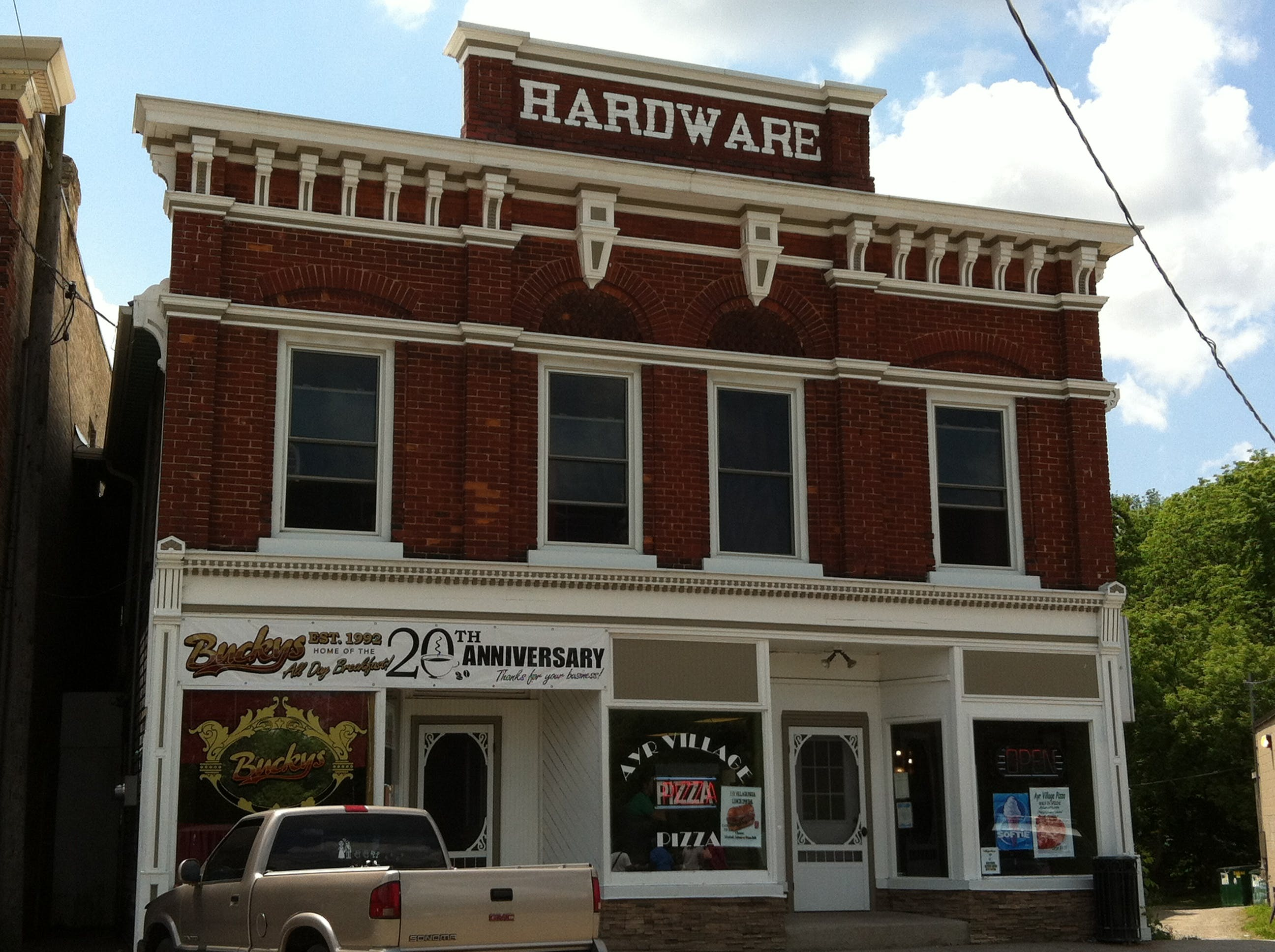 Downtown Ayr Hardware Store