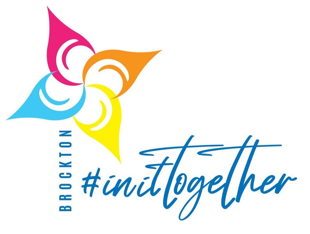 Brockton In It Together Logo