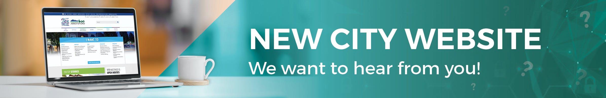 New City Website Engagement Banner