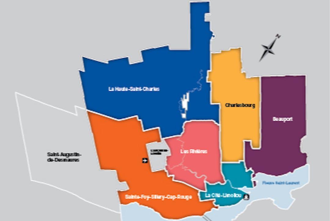 Carte Ville de Québec