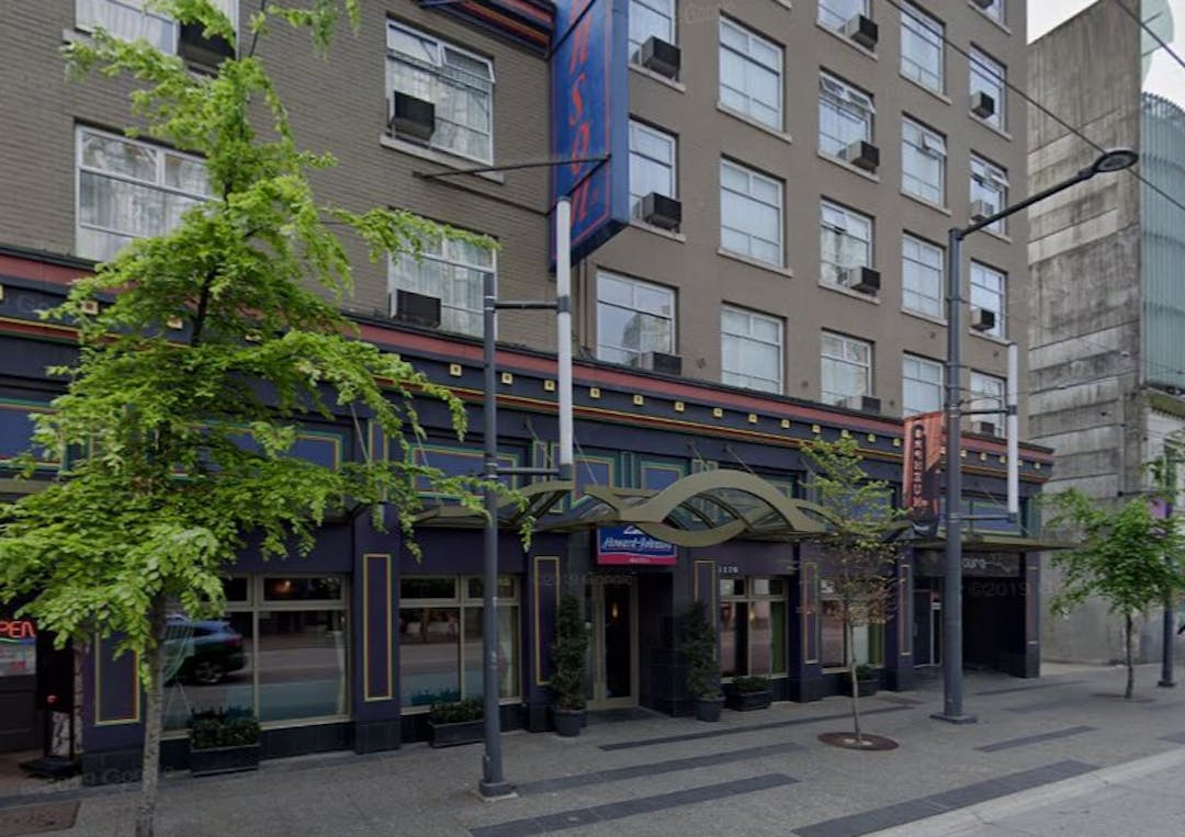 Picture of Howard Johnson hotel on Granville St.