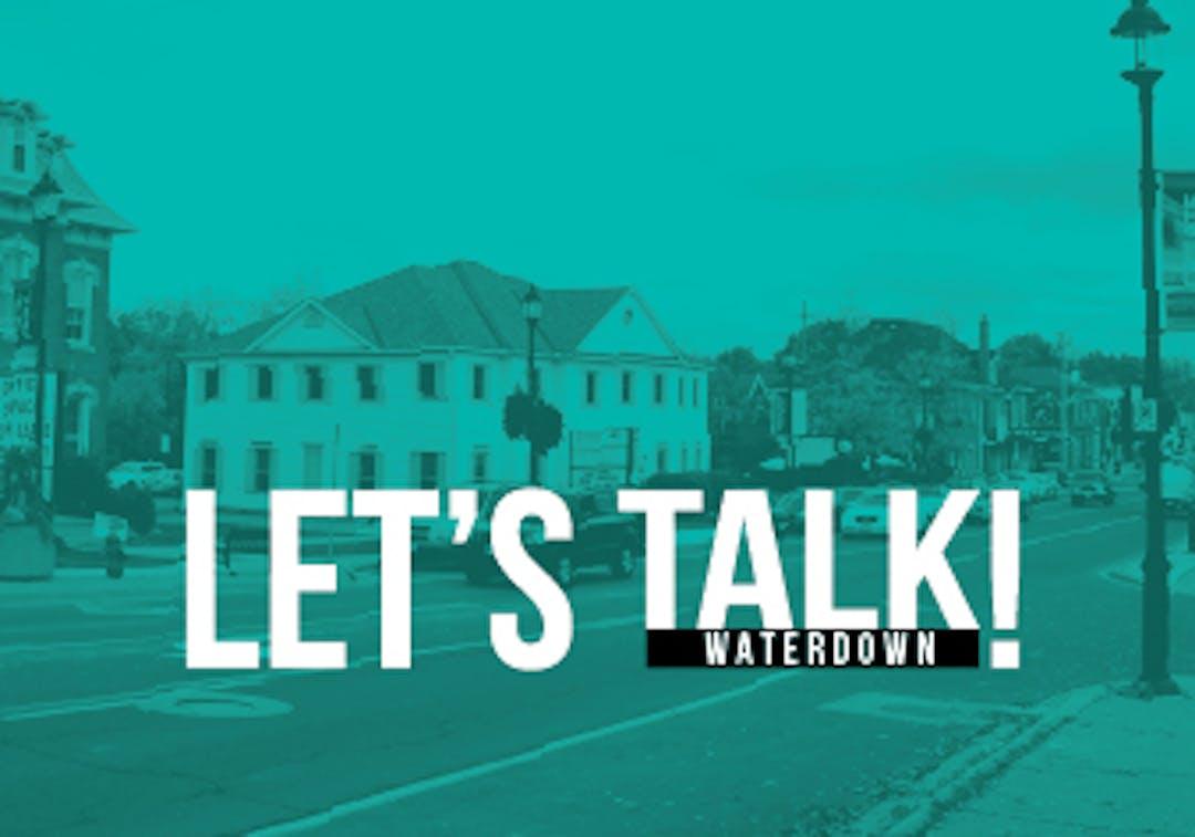 Waterdown Community Node Secondary Plan Study