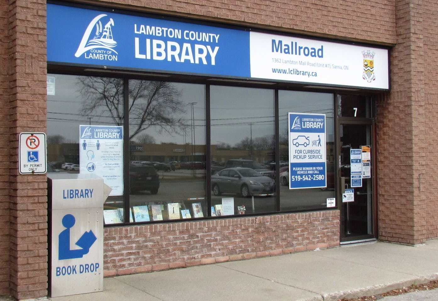 Current photo of the Lambton County Mallroad Location (2020)