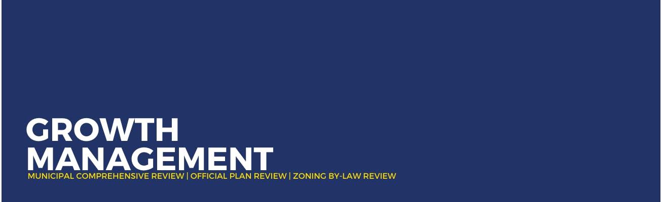 Banner, Growth Management Program